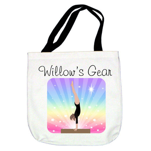 Gymnastics Dreams Tote Bag - Beam