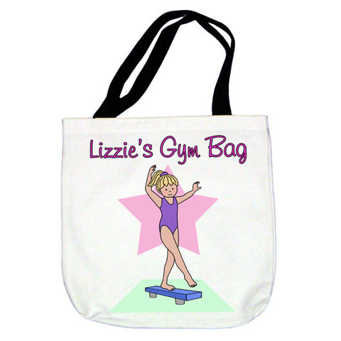 Gymnastics Tote Bag - Beam Design