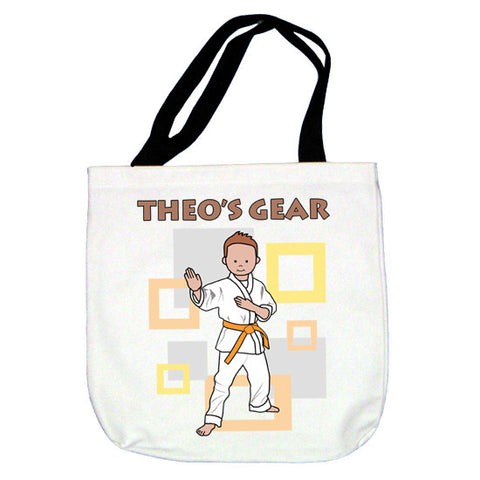 Martial Arts or Karate Kid Tote Bag - Boy
