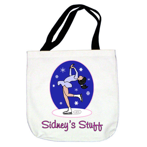 Ice Skating Tote Bag - Layback Skater