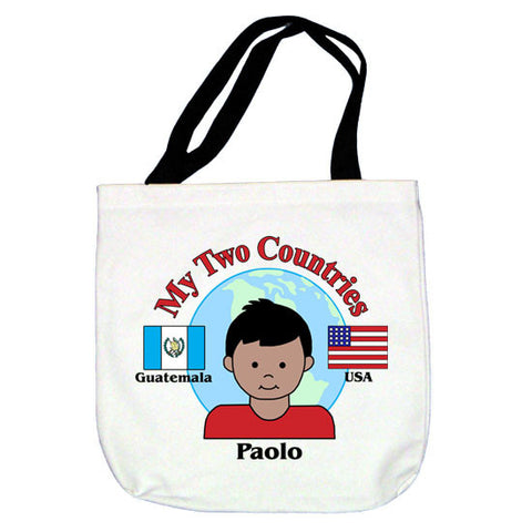 My Two Countries Tote Bag - Boy