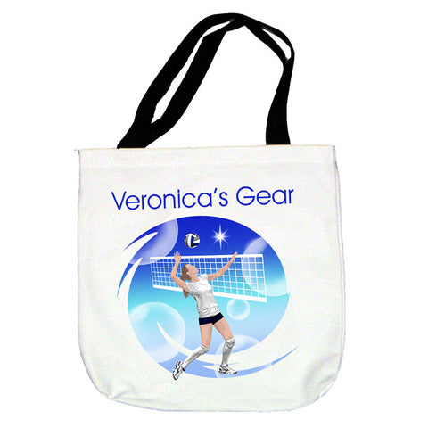Volleyball Dreams Tote Bag