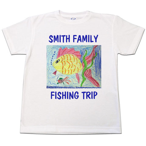 T-Shirt featuring your child's art
