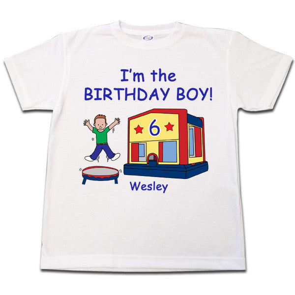Bounce House Birthday T Shirt - Boy