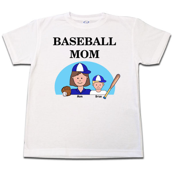 Baseball Mom T Shirt