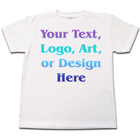 Custom T Shirt - Adult Sizes