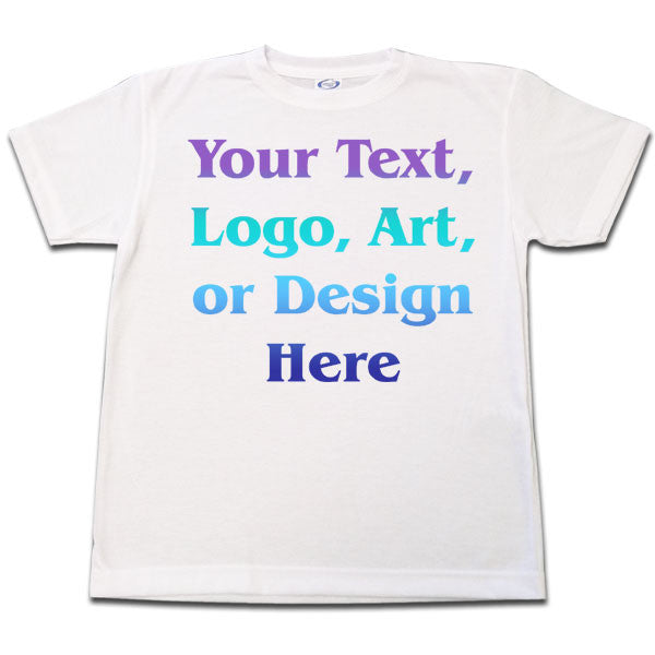 Custom T Shirt - Youth Sizes