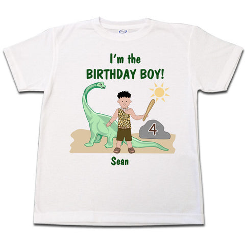 Dinosaur Birthday T Shirt - Boy