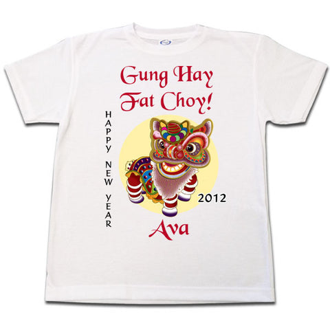 Chinese New Year Lion Dancer T-Shirt