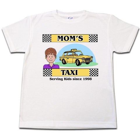 Mom's Taxi T Shirt