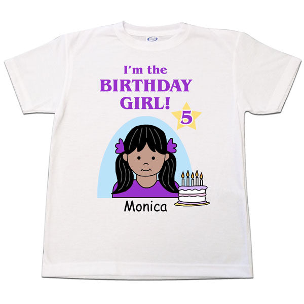 Birthday Kid T Shirt - Girl
