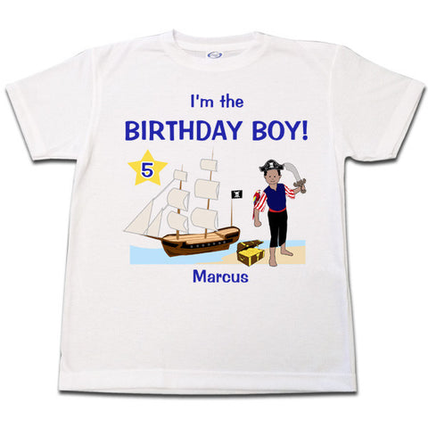 Pirate Birthday T Shirt