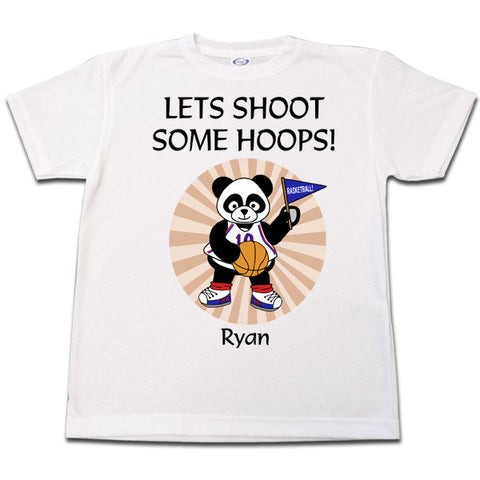 Basketball Panda T Shirt