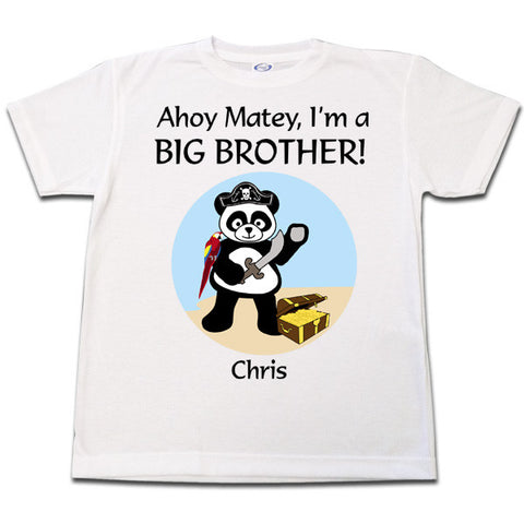 Pirate Panda T Shirt