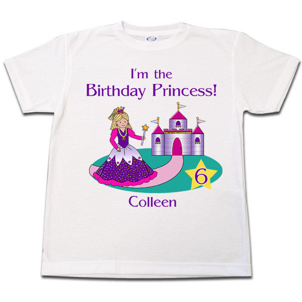 Princess Birthday T Shirt