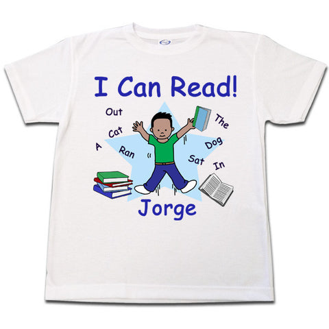 I Can Read! T shirt - Boy