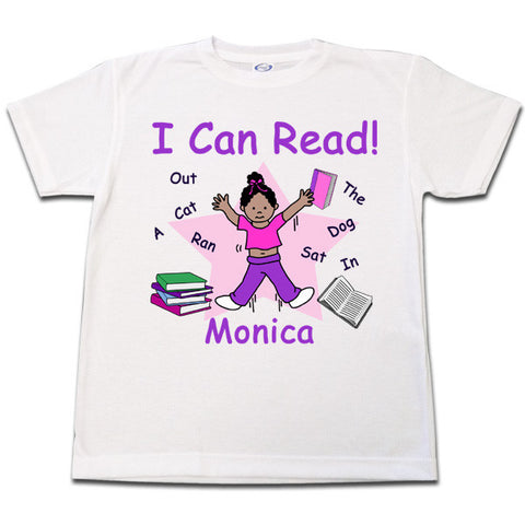 I Can Read! T shirt - Girl
