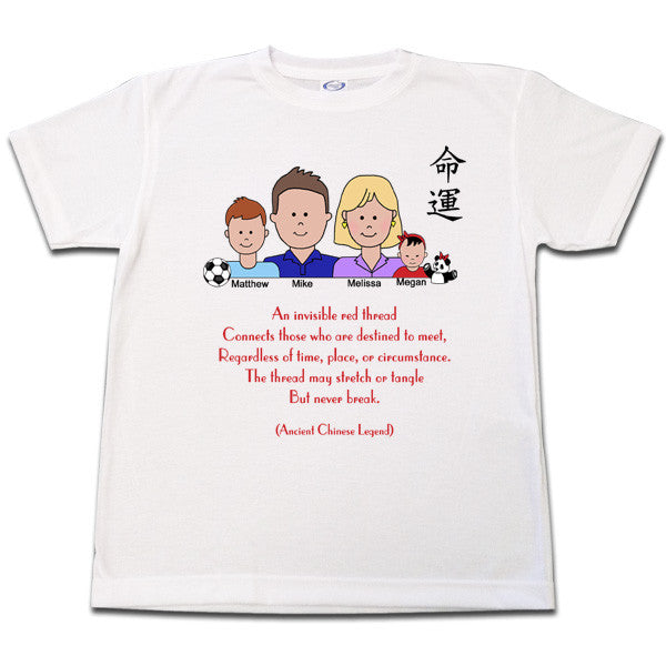 Adoption Red Thread T Shirt