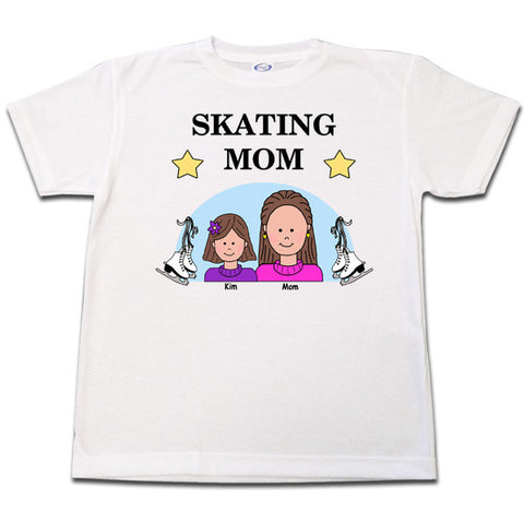 Ice Skating Mom T Shirt