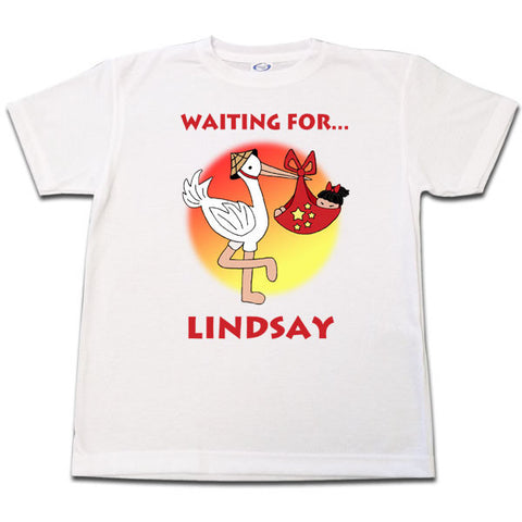 Adoption Stork T Shirt - Girl