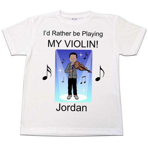 Violin Recital Boy T Shirt