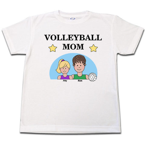 Volleyball Mom T Shirt