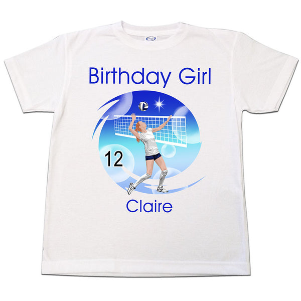 Volleyball Dreams Birthday T Shirt