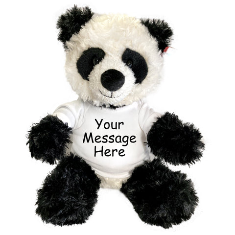 "Personalized Stuffed Panda - 12"" Aurora Tubbie Wubbies Panda"