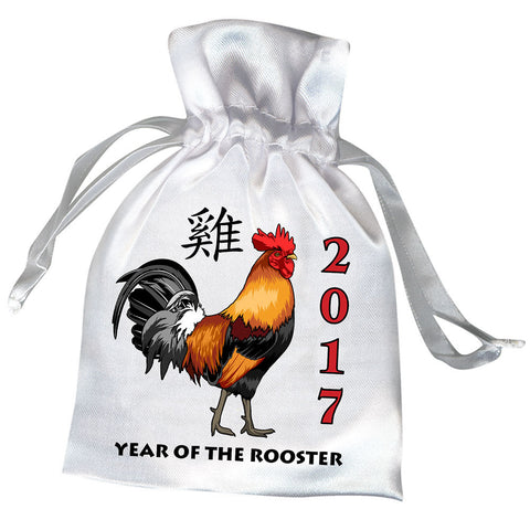 Year of the Rooster Chinese Zodiac 2017 Favor Bag