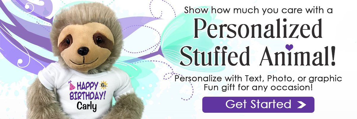 Personalized Teddy Bears and Stuffed Animals for Valentine's Day Gifts