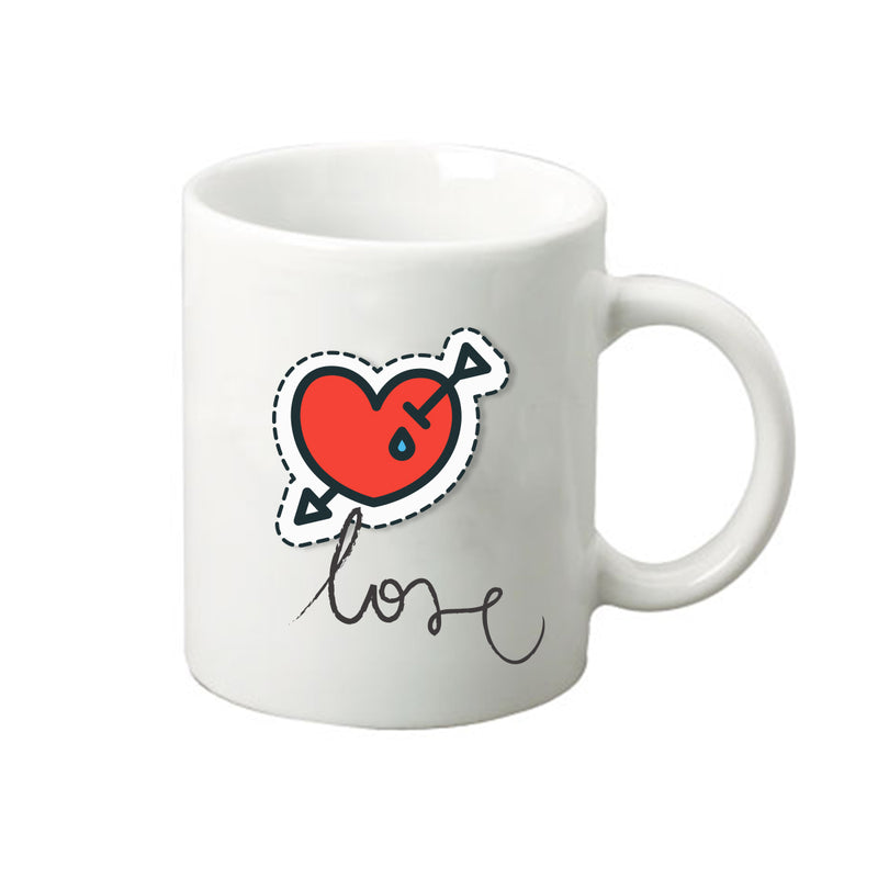 Heart in Love Mug
