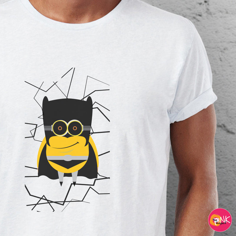 Black Bat Minion T- Shirt