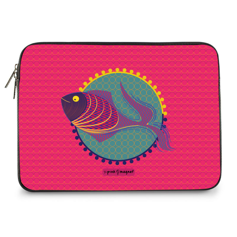 The Pretty Fish Laptop Sleeve 11"