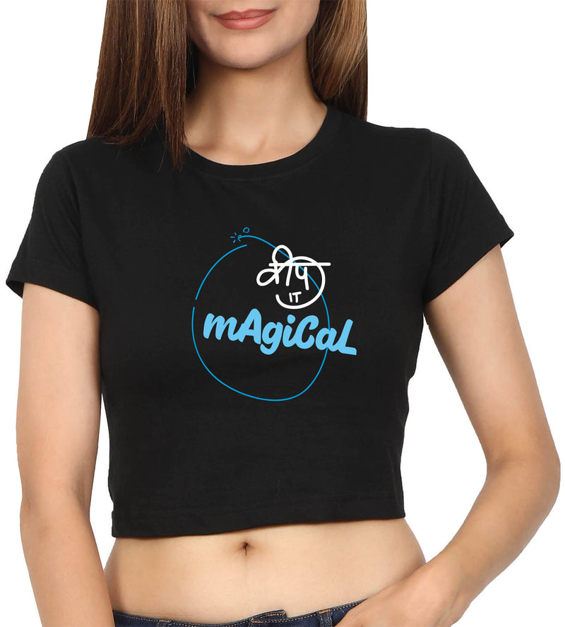Keep It Magical Crop Top
