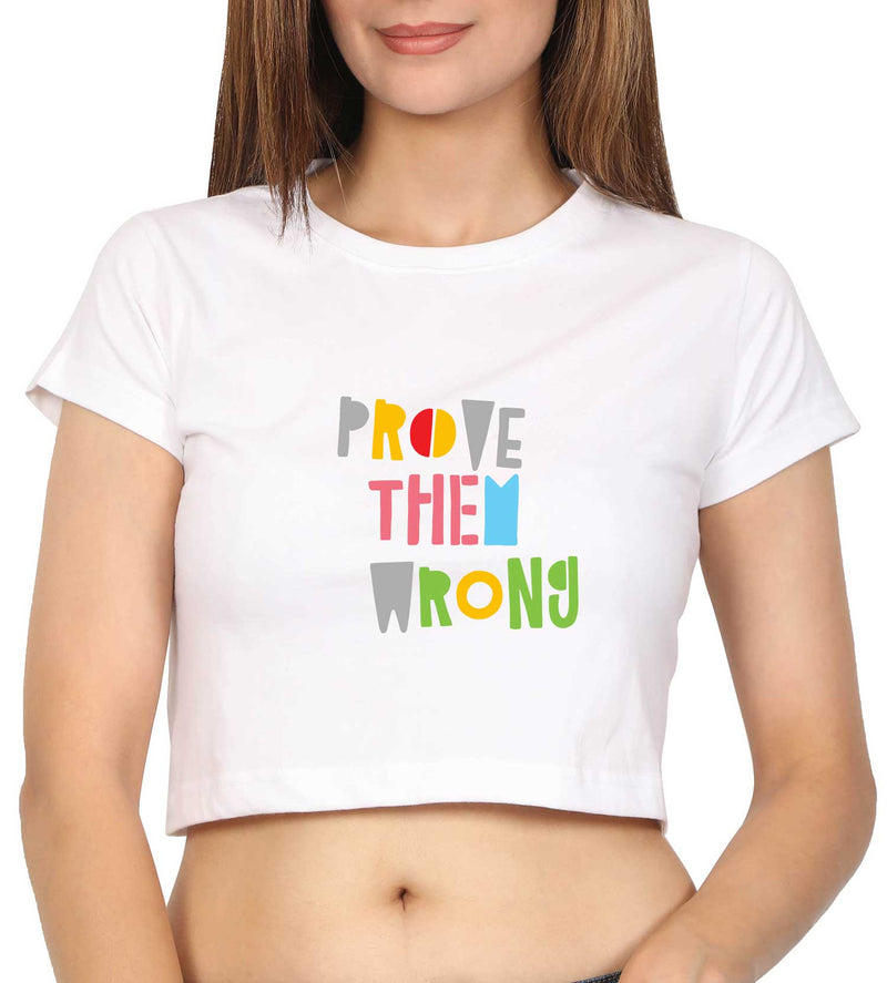 Prove Them Wrong Crop Top