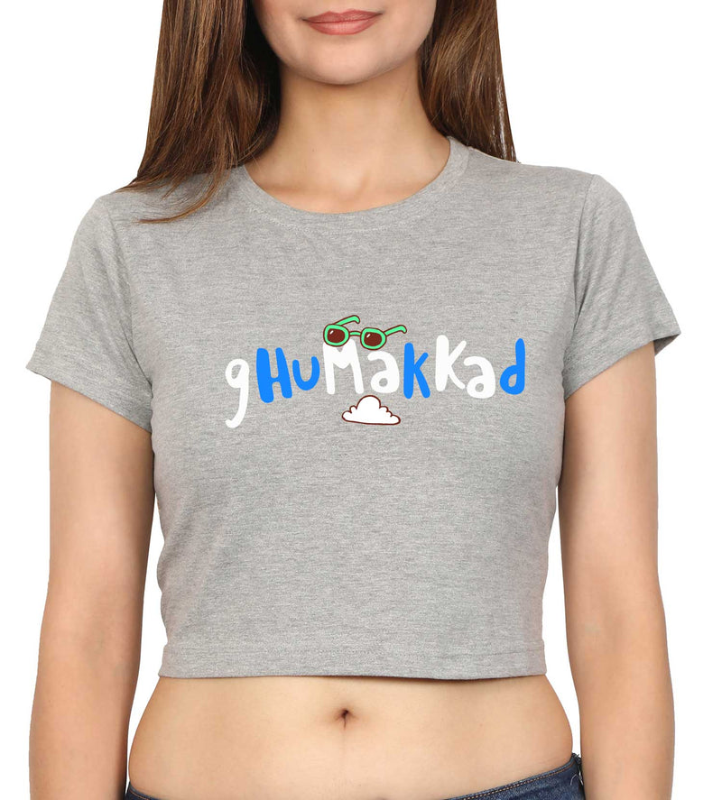 Ghumakkad Crop Top