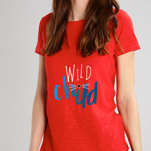 Wild Child Red T- Shirt