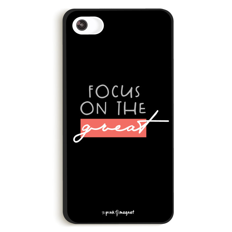 Focus On The Great Phone Case