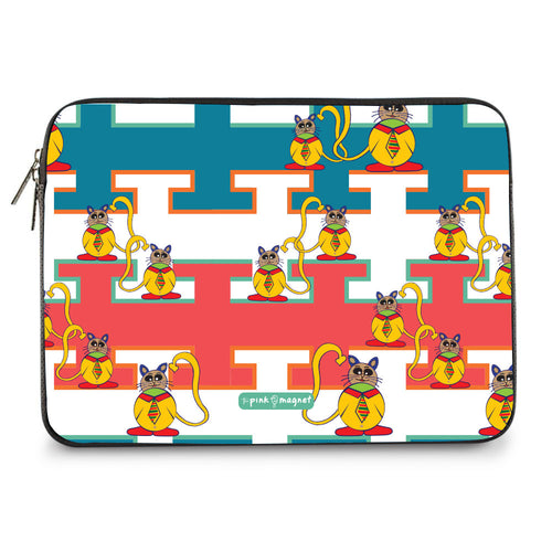 The Bossy Cats Laptop Sleeve 11"