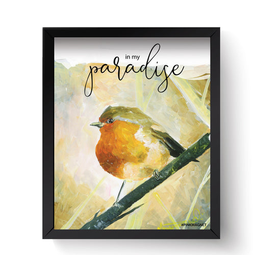In My Paradise - Wall Art