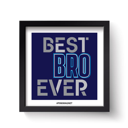 Best Bro - Wall Art