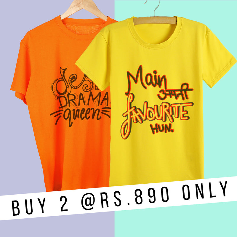 OFFER of 2 T-shirts
