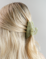 The Poppy Hair Clip (Sage) - Hair Accessories - Women's Hair - Charcoal Clothing