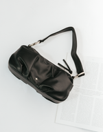 Teddi Bag (Black) - Black Shoulder Bag - Women's Bag - Charcoal Clothing