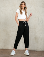 Allison Pants (Black) - Track Pants - Women's Pants - Charcoal Clothing