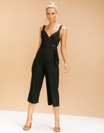 - Women's Jumpsuit - Charcoal Clothing