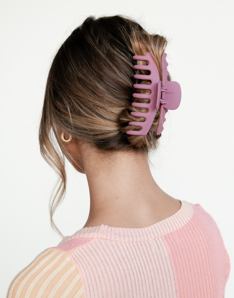 Shay Hair Clip (Pink) - Hair Accessories - Women's Hair - Charcoal Clothing