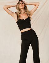 - Women's Top - Charcoal Clothing