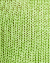 Talk Is Cheap Knit Jumper - Lime Green Sweater-Charcoal Clothing-Women's-Top