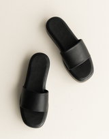 Midnight Mini Dress - Black High Neck Mini Dress - Women's Dress - Charcoal Clothing